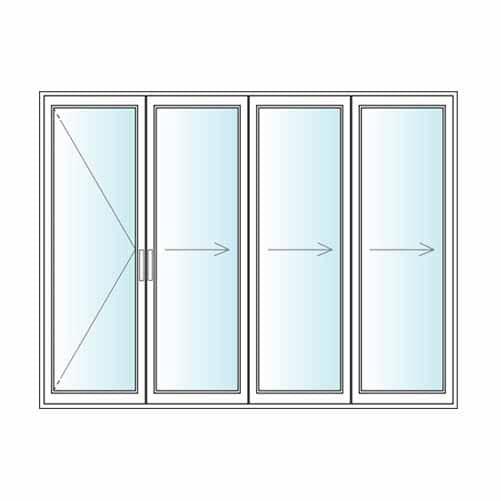 Wooden Bifold doors